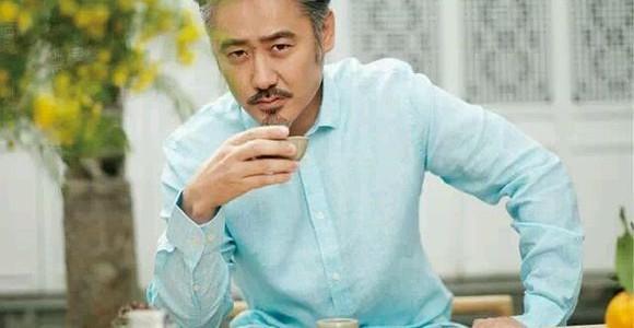 吴秀波,从茶到素食
